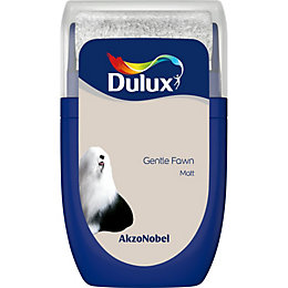 Dulux Standard Gentle Fawn Matt Emulsion Paint 0.03L