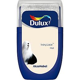 Dulux Standard Ivory lace Matt Emulsion paint 0.03L