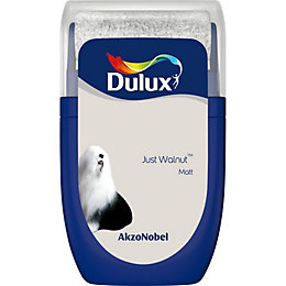 Dulux Standard Just Walnut Matt Emulsion Paint 0.03L