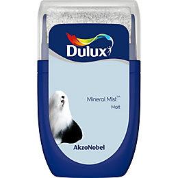 Dulux Standard Mineral mist Matt Emulsion paint 0.03L