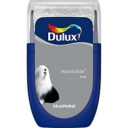 Dulux Standard Natural Slate Matt Emulsion Paint 0.03L