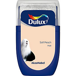 Dulux Standard Soft peach Matt Emulsion paint 0.03L