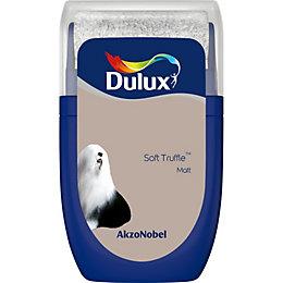 Dulux Standard Soft truffle Matt Emulsion paint 0.03L