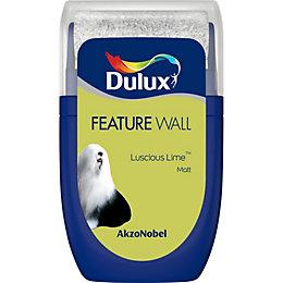 Dulux Feature Wall Luscious Lime Matt Emulsion Paint