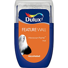 Dulux Feature Wall Moroccan Flame Matt Emulsion Paint