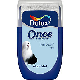 Dulux Once First dawn Matt Emulsion paint 0.03L