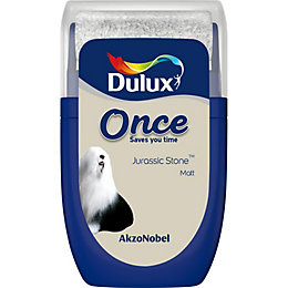 Dulux Once Jurassic Stone Matt Emulsion Paint 0.03L