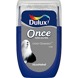 Dulux Once Urban obsession Matt Emulsion paint 0.03L