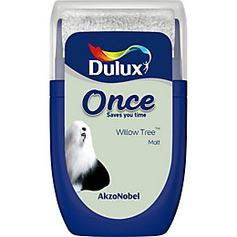 Dulux Once Willow Tree Matt Emulsion Paint 0.03