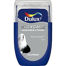 Dulux Easycare Warm Pewter Matt Emulsion Paint 0.03L
