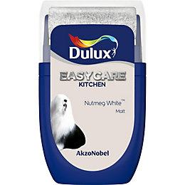 Dulux Easycare Nutmeg White Matt Emulsion Paint 0.03L