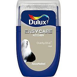 Dulux Easycare Overtly Olive Matt Emulsion Paint 0.03L