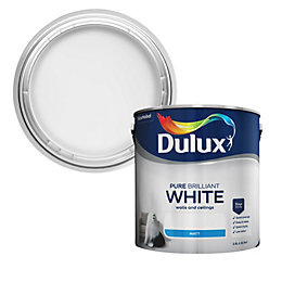 Dulux Pure Brilliant White Matt Emulsion Paint 2.5L