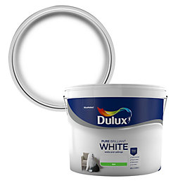 Dulux Pure brilliant white Silk Emulsion paint 10L