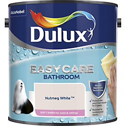 Dulux Easycare Nutmeg white Soft sheen Emulsion paint