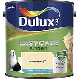 Dulux Easycare Wild primrose Matt Emulsion paint 2.5L