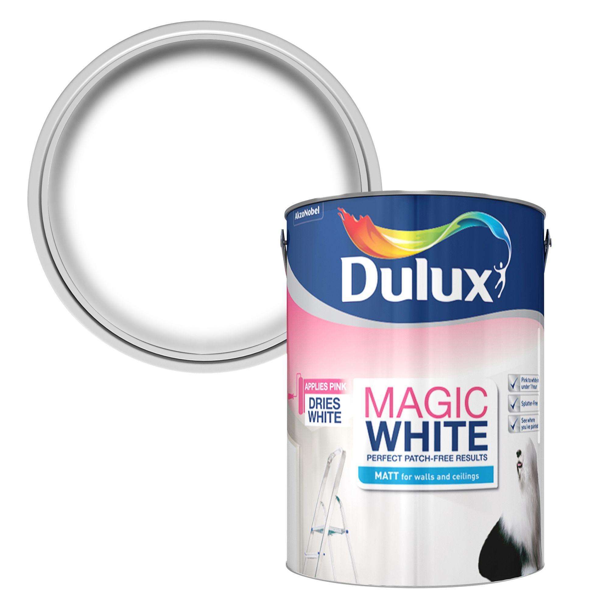 Dulux Trade External White Matt Emulsion Paint L