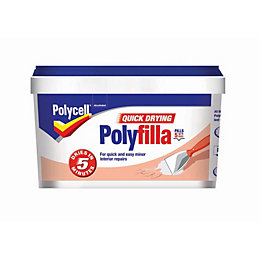 Polycell Quick dry ready mixed filler 600 g