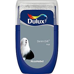 Dulux Standard Denim drift Matt Emulsion paint 0.03L