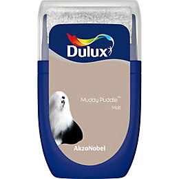 Dulux Standard Muddy puddle Matt Emulsion paint 0.03L