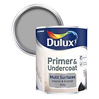 Dulux Grey Multi surface Primer & undercoat 0.75L
