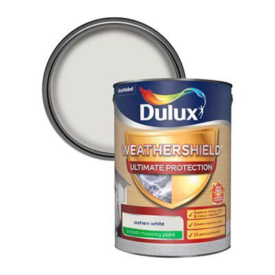 Dulux Weathershield Ultimate Protection Ashen White Smooth