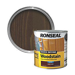 Ronseal Dark oak Satin Woodstain 2.5L