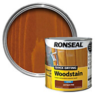 Ronseal Antique pine Satin Woodstain 2.5L