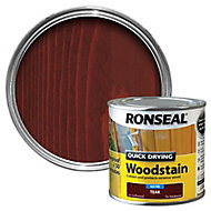 Ronseal Teak Satin Woodstain 0.25L