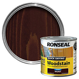 Ronseal Walnut Satin Woodstain 0.25L