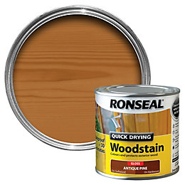 Ronseal Antique pine Gloss Woodstain 0.25L