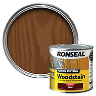 Ronseal Teak Gloss Woodstain 0.25L