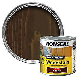 Ronseal Dark oak Gloss Woodstain 0.25L