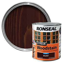 Ronseal Walnut High Satin Sheen Woodstain 0.75L
