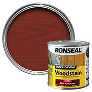Ronseal Deep mahogany Gloss Woodstain 0.25L