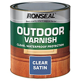 Ronseal Satin Outdoor Varnish 750ml