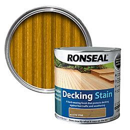 Ronseal Rustic pine Matt Decking stain 2.5L