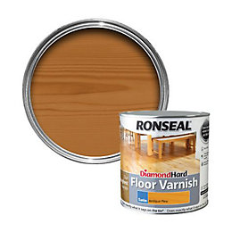 Ronseal Diamond hard Antique pine Satin Floor varnish