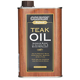 Colron Refined Matt Teak Oil 0.5L