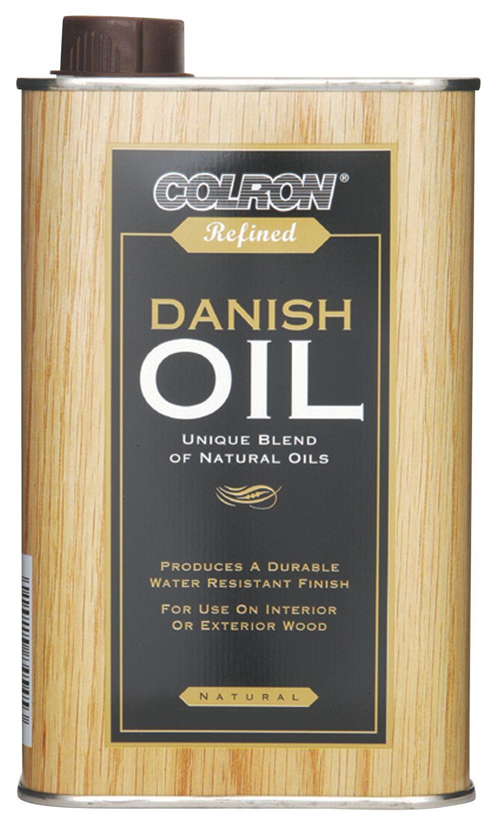 Colron Clear Danish Oil 05l Departments Diy At Bq