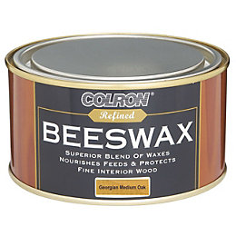 Colron Refined Georgian Medium Oak Matt Beeswax 0.4L