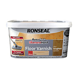 Ronseal Diamond Clear Gloss Floor Varnish 2500ml