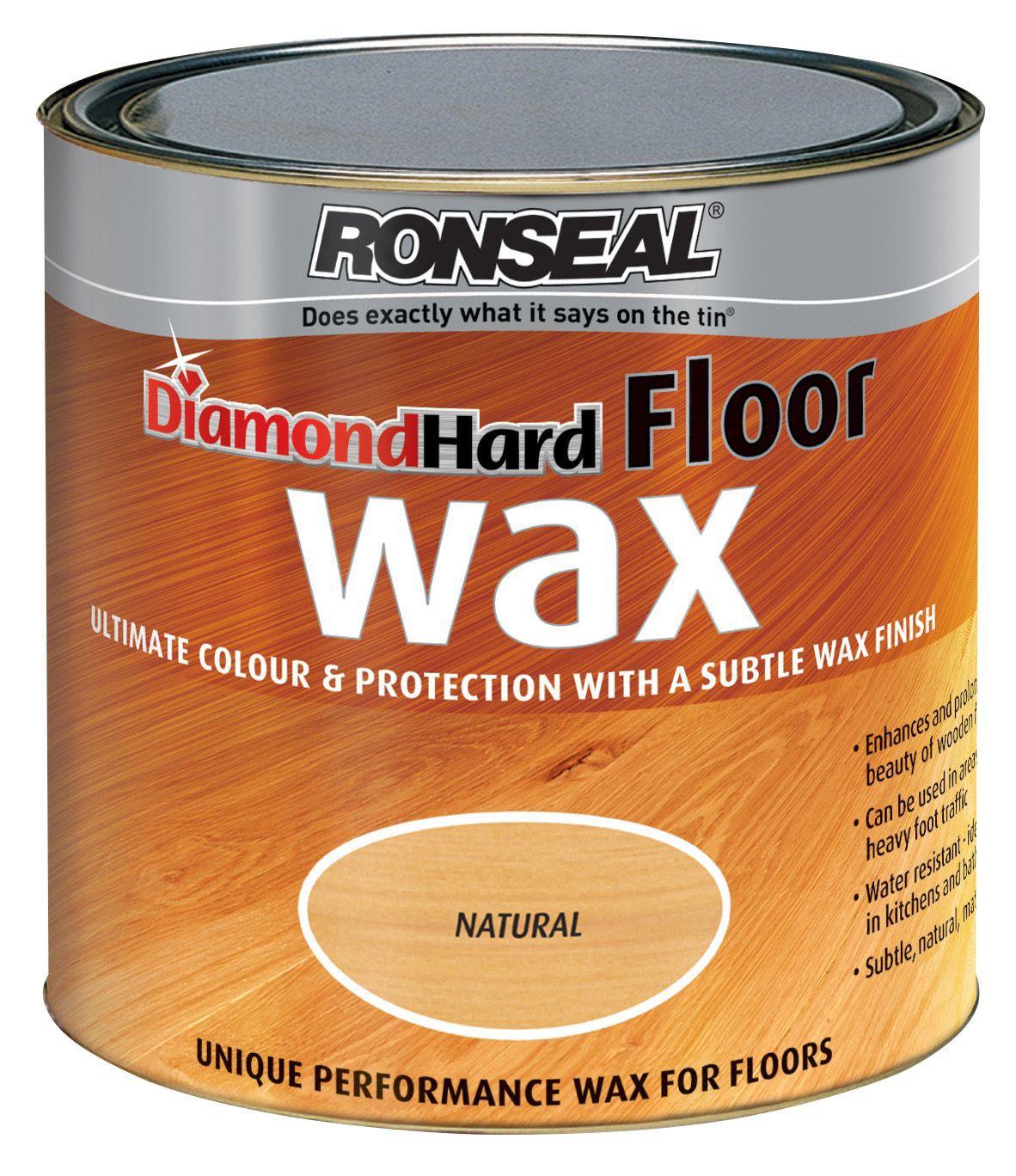 Ronseal Diamond Natural Oak Matt Floor