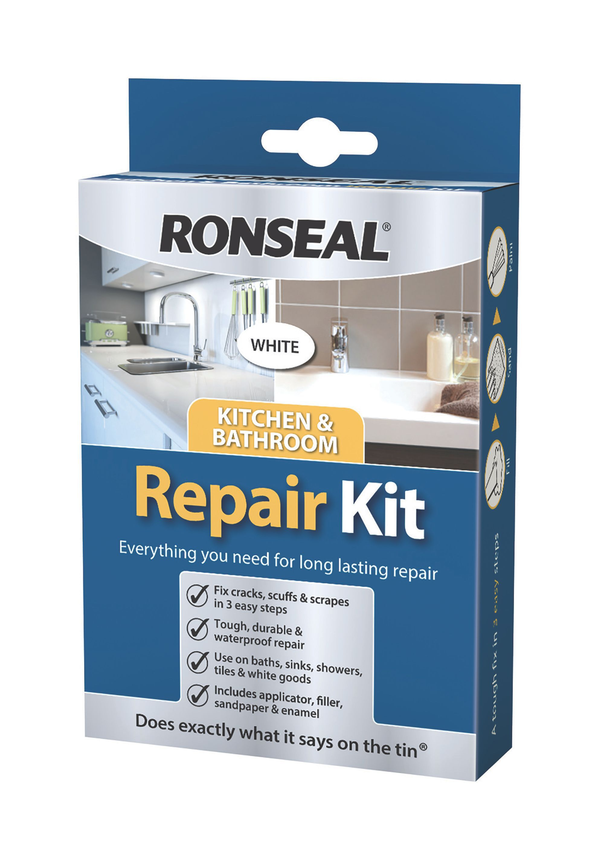 Ronseal White Repair Kit 60 G | Departments | DIY at B&Q