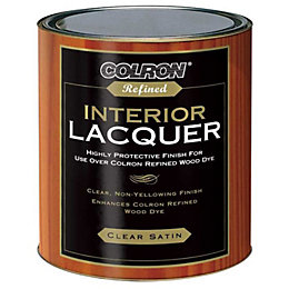 Colron Refined Clear Satin Interior lacquer 0.75L