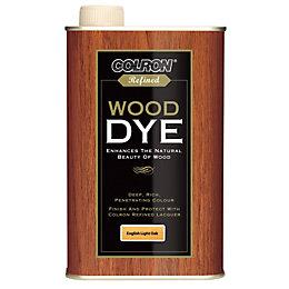 Colron Refined English Light Oak Matt Wood Dye