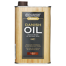 Colron Refined Canadian cedar Danish oil 0.5L