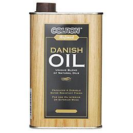 Colron Refined Deep Mahogany Danish Oil 0.5L