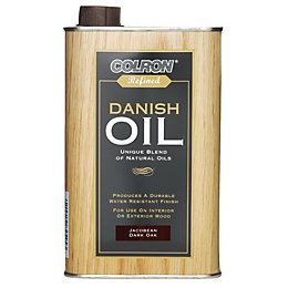 Colron Refined Jacobean dark oak Danish oil 0.5L