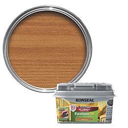 Ronseal Perfect finish Teak Lightly tinted Hardwood garden